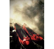 Red Shoes Photographic Print