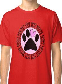 Animal Spay Neuter Adopt T-Shirt Classic T-Shirt