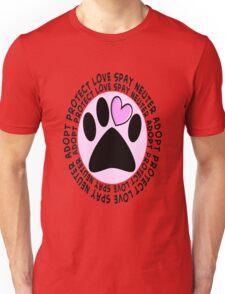 Animal Spay Neuter Adopt T-Shirt Unisex T-Shirt