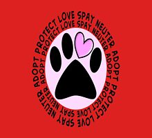 Animal Spay Neuter Adopt T-Shirt Unisex T-Shirt