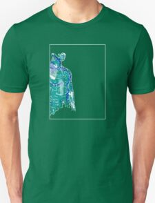Man Blue Green A T-Shirt