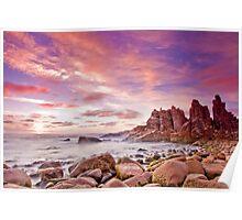 The Pinnacles, Phillip Island, Australia Poster