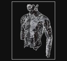 Man Grey D by Noel Richards
