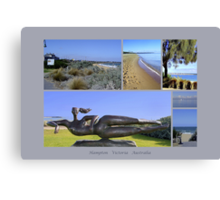 Hampton collage 2 - Victoria - Australia Canvas Print
