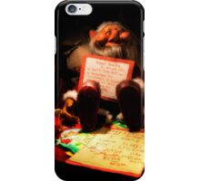 Dear Santa Letter iPhone Case/Skin