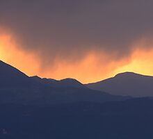 Stormy sunset by Ian Middleton