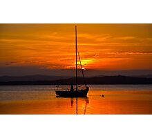 Nautical Sunset. Photographic Print