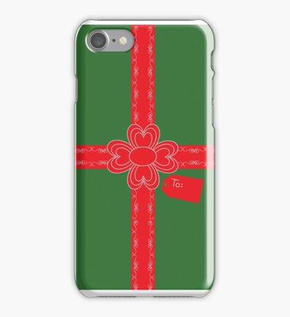 A Gift For You! iPhone Case/Skin