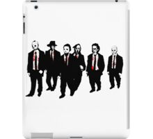 Reservoir Horror Icons iPad Case/Skin