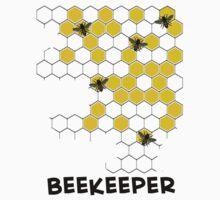 Beekeeper Honeycomb T-Shirt by Gail Gabel, LLC