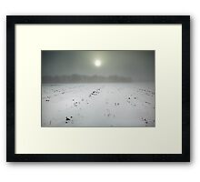 The Line I wasn't Looking For Framed Print