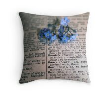 On the Same Page Throw Pillow