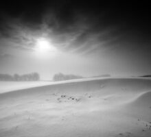 Cold Ridge BW by Andy Freer