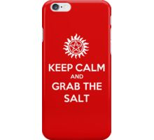 Supernatural - Keep Calm and Grab the Salt iPhone Case/Skin