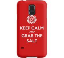 Supernatural - Keep Calm and Grab the Salt Samsung Galaxy Case/Skin
