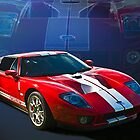 Ford GT40 by Stuart Row