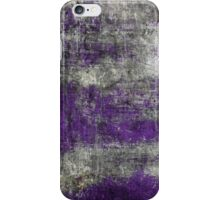 Scratched Metal - Purple iPhone Case/Skin
