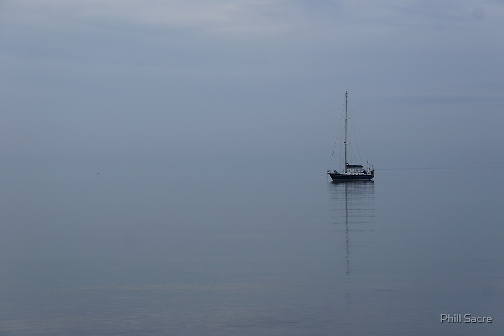 Boat on the Water by Phill Sacre