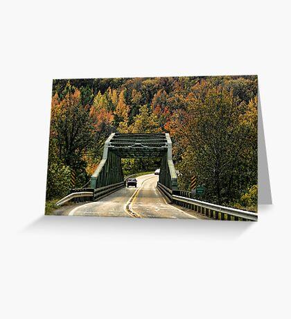 Buffalo River Bridge Greeting Card