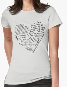 Quotes of the Heart - Janto (Black) T-Shirt