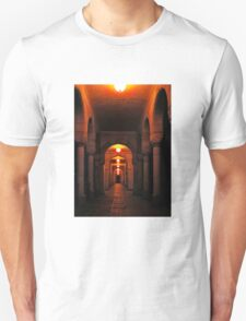 Beautiful corridor with classic arches T-Shirt