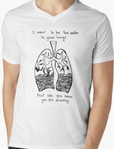 Sorority Noise Blissth Lyrics Mens V-Neck T-Shirt