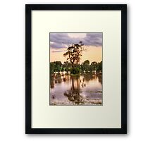 Solitary , Junee, NSW Australia - The HDR Experience Framed Print