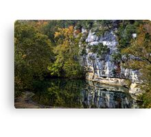 The Bluffs At The Buffalo Canvas Print