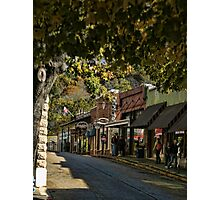 Eureka Springs Street Scene Photographic Print