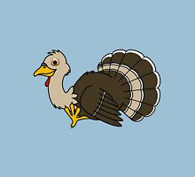 Thanksgiving Turkey with Light Brown Feathers Unisex T-Shirt