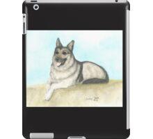 German Shepherd Dog Animal Art Peek Pets iPad Case/Skin