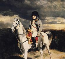 Napoleon Bonaparte On Horseback by warishellstore