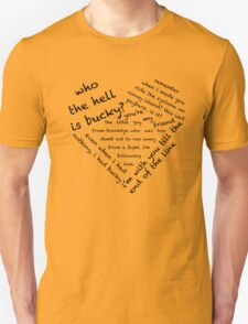 Quotes of the Heart - Stucky (Black) T-Shirt