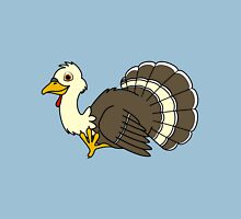 Thanksgiving Turkey with Cream Feathers Unisex T-Shirt
