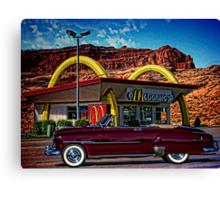 1951 Chevrolet Convertible Canvas Print
