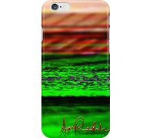Digital Landscape iPhone Case/Skin