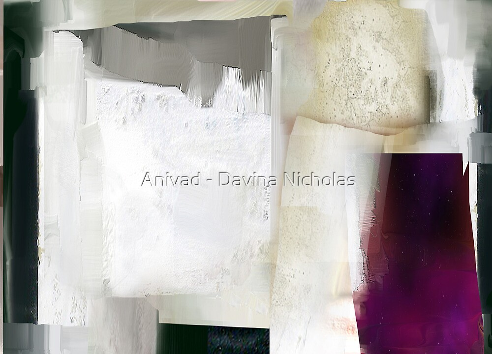 Painting dialogue by Anivad - Davina Nicholas