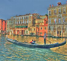 Romantic Gondola Ride by abuller