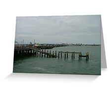 Down Southend Pier Greeting Card