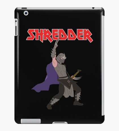 Shredder iPad Case/Skin