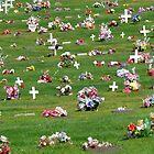 Spontaneous Cemetery Symmetry. by Lynda Kerr