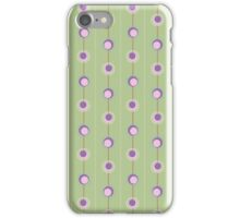 Pink and Purple Retro Circles  iPhone Case/Skin
