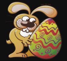 Easter Bunny Falling in Love Kids Tee