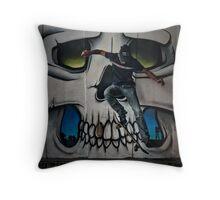 Skull and Bones Throw Pillow