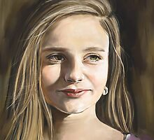 Commission a Digitally Hand Painted Custom Portrait by noresasart