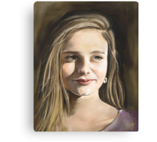 Commission a Digitally Hand Painted Custom Portrait Canvas Print