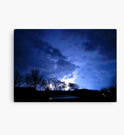 Storm Chase 2012  Canvas Print