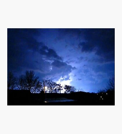 Storm Chase 2012  Photographic Print