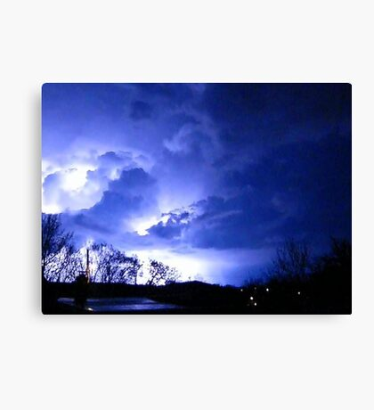 Storm Chase 2012 2 Canvas Print