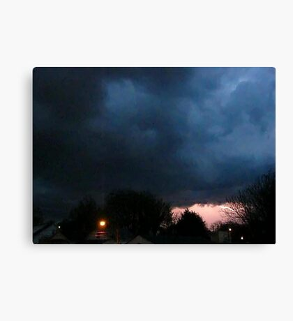 Storm Chase 2012 4 Canvas Print